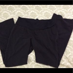 Maternity black pants